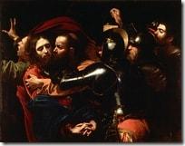 caravaggiotakingofchrist thumb - Il primo fotografo della storia? Michelangelo Merisi detto Caravaggio