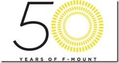 fmount 50th logo thumb - 50° anniversario del sistema Nikon F-Mount