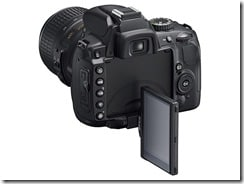 d5000 lcd 3 thumb - Nikon D5000, la prima reflex con monitor LCD ad angolazione variabile