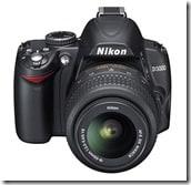 D3000 18 55 fronttop thumb - Nikon presenta due nuove reflex, la D300s e la D3000