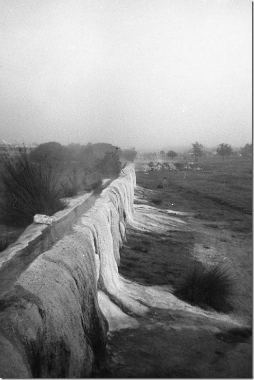 21 - VIterbo, il bullicame, mattina presto, Etrusco74