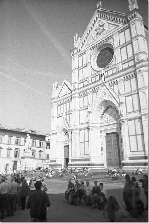 8 - Firenze, Santa Croce, ottopolina