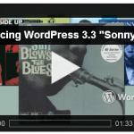 """Wordpress 3.3 """"Sonny"""" disponibile per il download"""