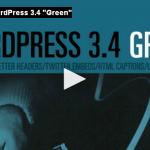 """wordpress 3.4 """"Green"""" disponibile per il download"""