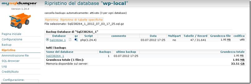 9 thumb - Come creare una copia locale di backup del tuo blog wordpress