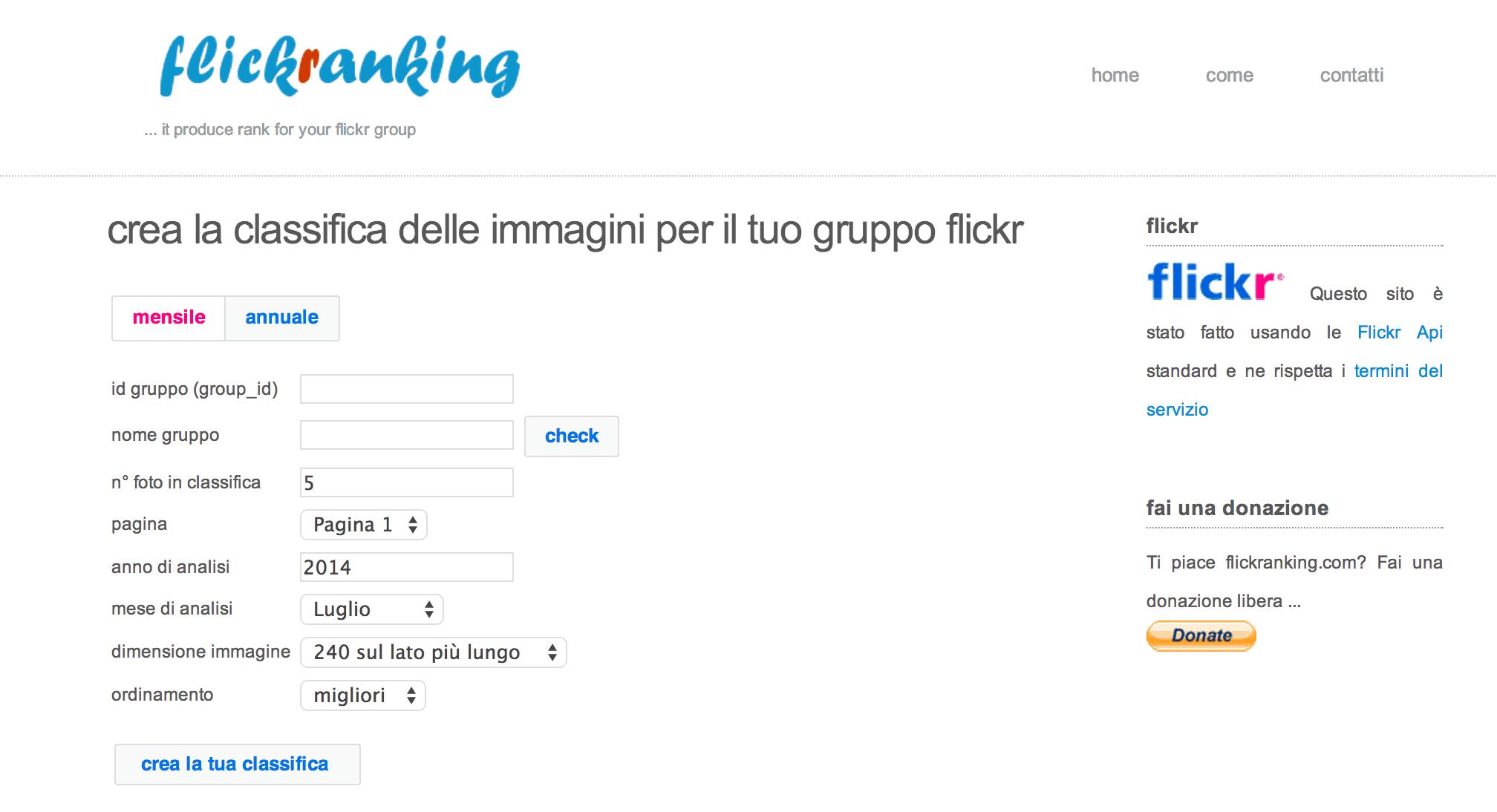 flickr ranking