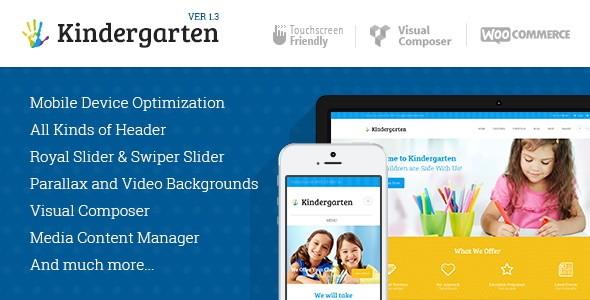 Kindergarten - I 5 migliori template wordpress dedicati ai bambini