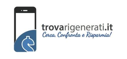 trovarigenerati logo new white 430 200 - trovaRigenerati.it: il motore di ricerca italiano per iPhone rigenerati