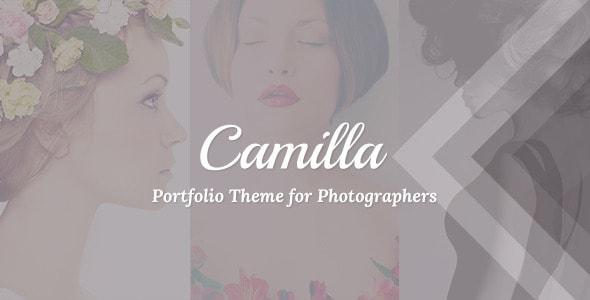 camilla - Sei un fotografo? Ecco i migliori temi per il tuo website in wordpress