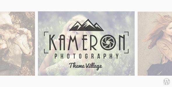 kameron - Sei un fotografo? Ecco i migliori temi per il tuo website in wordpress