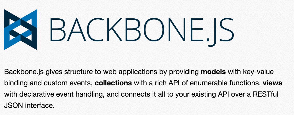 backbone.js - Come scegliere il giusto framework javascript MVC?