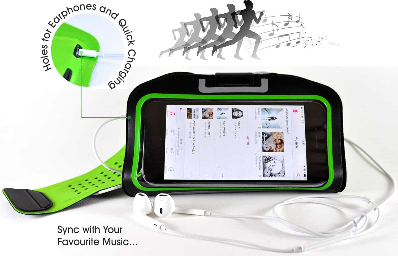fascia sportiva iphone 3 - La miglior fascia sportiva da braccio per iPhone