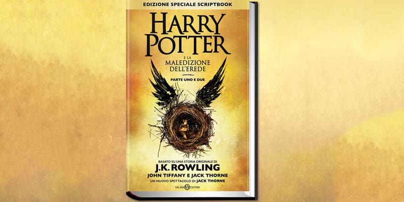 Harry Potter e la Maledizione dellErede cover - Harry Potter e la maledizione dell'erede: il (nuovo) libro in uscita il 24 Settembre 2016