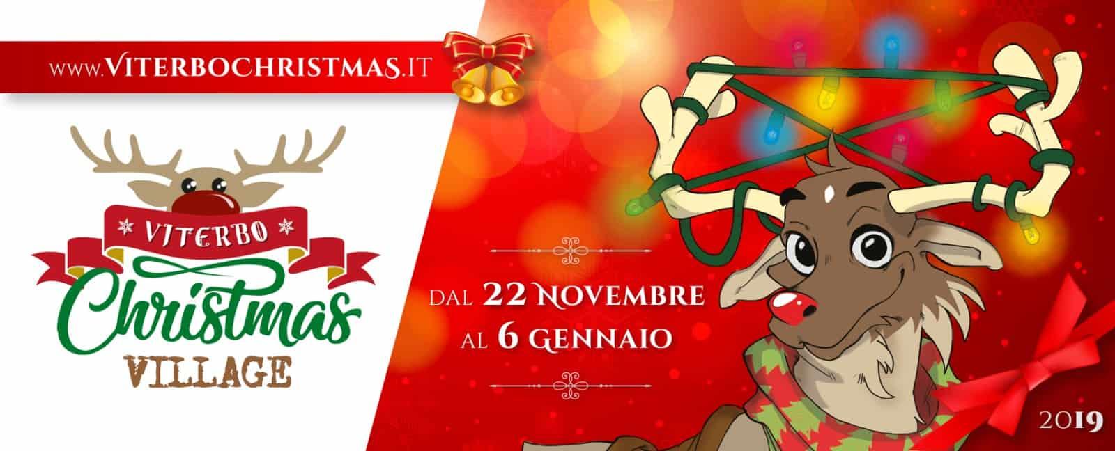 banner1 - Viterbo Christmas Village : la magia del Natale nel Centro storico di Viterbo