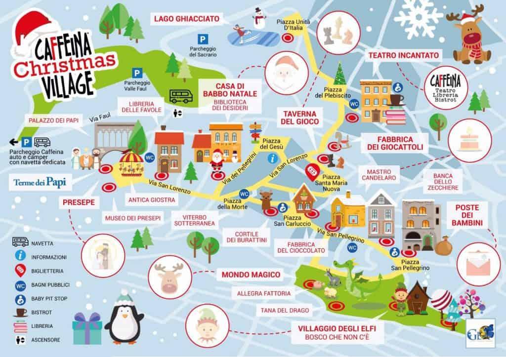 caffeina christmas village 1024x723 - Caffeina Christmas Village: la magia del Natale nel Centro storico di Viterbo