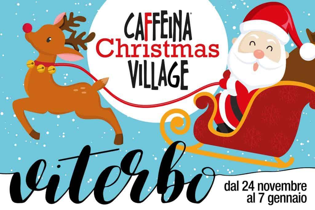 caffeina christmas village logo - Caffeina Christmas Village: la magia del Natale nel Centro storico di Viterbo