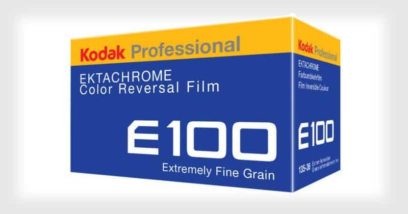 Tenetivi forte: la Kodak Ektachrome sta tornando