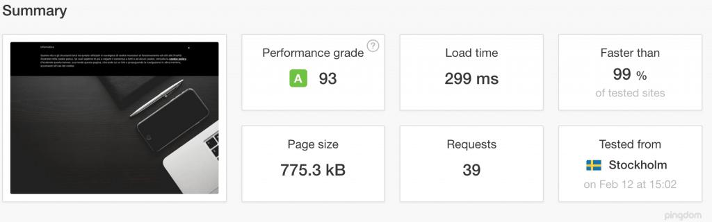 3-pingdom-1024x320 Come misurare (seriamente) la velocità del tuo blog? inbound marketing SEO tech tutorial web marketing wordpress