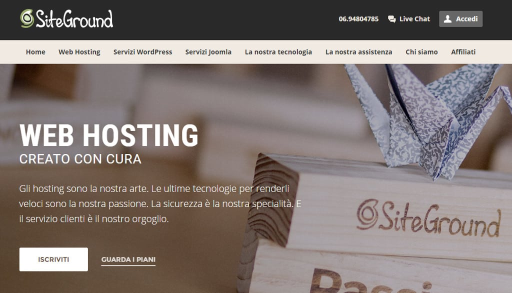 siteground italiano - Siteground (finalmente) in Italiano