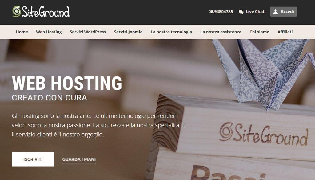 siteground italiano - Siteground (finalmente) in Italiano