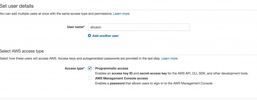 003 IAM step utente 1024x398 - AWS CloudFront CDN: Come configurarla per velocizzare wordpress