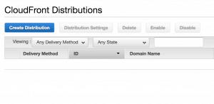 041 CloudFront dashboard 300x146 - AWS CloudFront CDN: Come configurarla per velocizzare wordpress