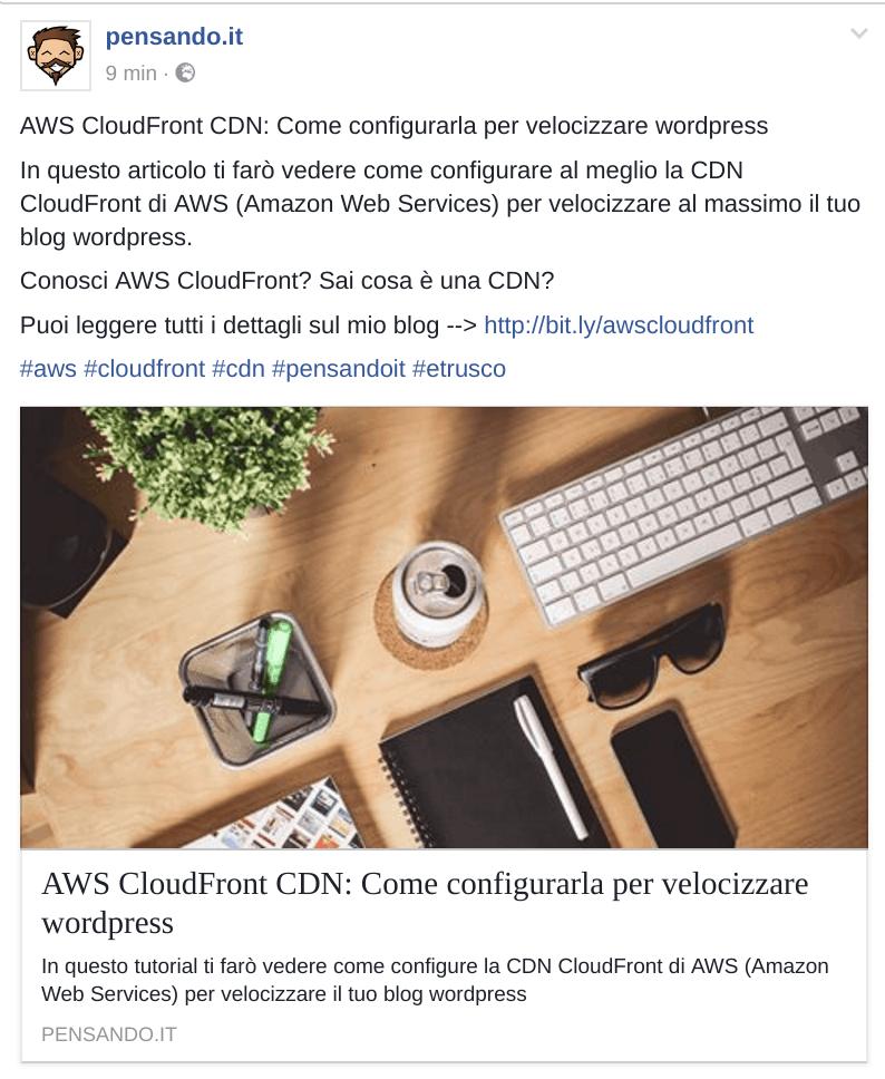 facebook - Tutti i trucchi per condividere (efficacemente) un articolo sui social network