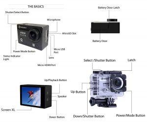 xpro2 3 300x250 - XPRO2: la miglior action cam subacquea Ultra HD 4K (a meno di 70 euro)