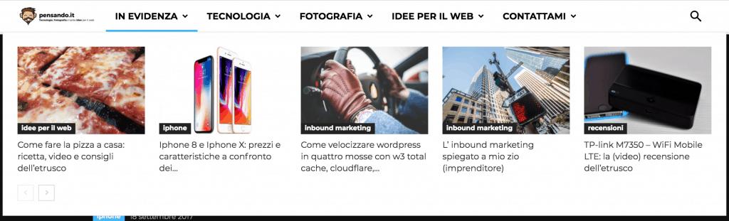 Newspaper 8.5 08 1024x311 - Il nuovo look di pensando.it: focus su novità, articoli e categorie con Newspaper 8.5