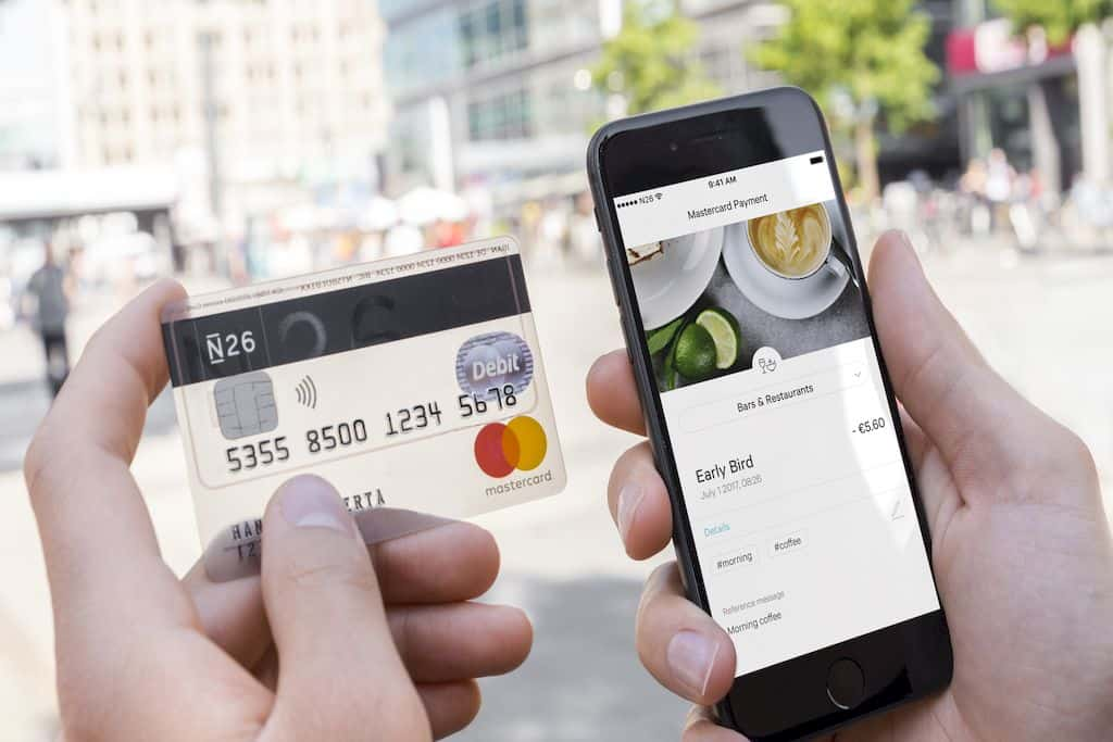 N26 home banking header - N26: Il conto corrente gratuito che gestisci dal tuo iPhone