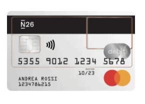 n26 standard - N26: Il conto corrente gratuito che gestisci dal tuo iPhone