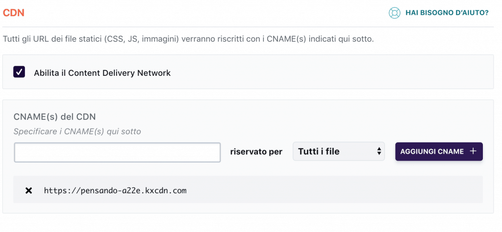 KeyCDN 18 1024x474 - Come integrare KeyCDN con il tuo blog wordpress