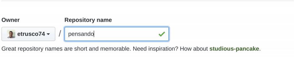 12 crea github repo 1024x209 - Deployare un'app node.js su Heroku in Continuous Integration con gitHub