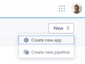 14 ceate heroku app 300x226 - Deployare un'app node.js su Heroku in Continuous Integration con gitHub