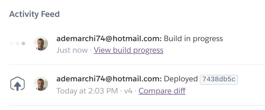 23 build in progress - Deployare un'app node.js su Heroku in Continuous Integration con gitHub