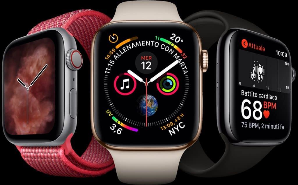 apple watch serie 4 1024x636 - Iphone Xs, Xs Max ed Xr: confronto, prezzi e caratteristiche dei nuovi modelli Apple