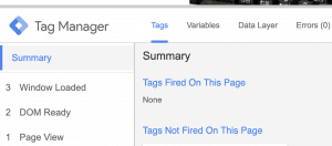 5 google tag manager 300x132 - Google Tag Manager ed Analytics per monitorare i link affiliati