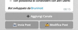 4 bot telegram collega bot a canale 1 300x118 - Come gestire un canale telegram usando i bot