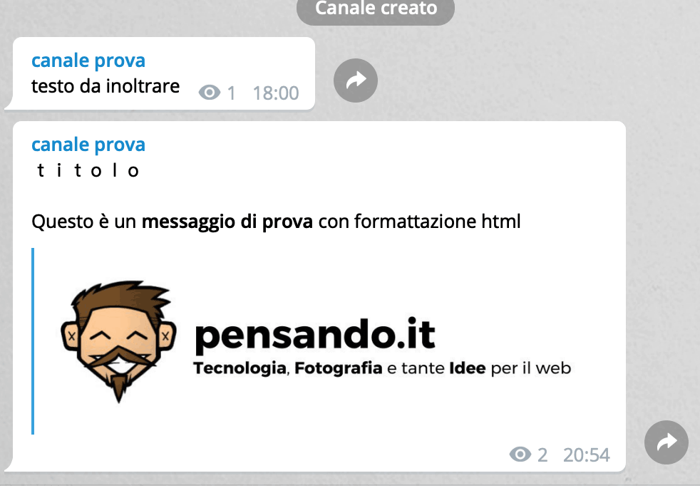 6 bot telegram crea post 10 - Come gestire un canale telegram usando i bot