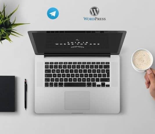 Come integrare wordpress con un canale telegram