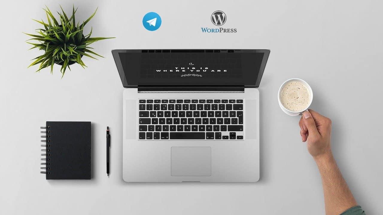 wordpress telegram 1 - Come integrare wordpress con un canale telegram