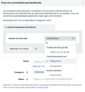 16 pixel facebook 275x300 - Pixel Facebook e Google Tag Manager per monitorare link affiliati