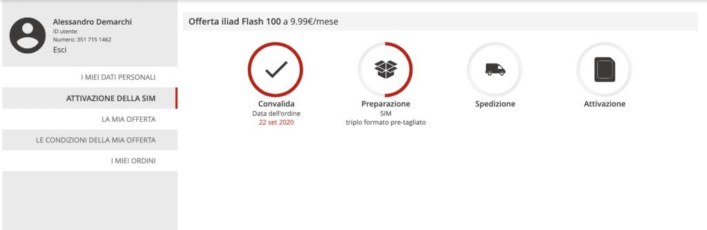 iliad flash 100 20 1024x334 - Come passare a iliad online
