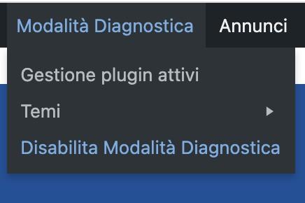 6 wordpress modalita diagnostica - Come attivare la modalità diagnostica su wordpress