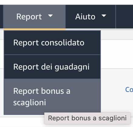 Report Bonus a Scaglioni Amazon - Affiliazione Amazon: Rimodulazione delle Commissioni Pubblicitarie